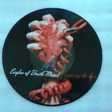 Discos de vinilo: EAGLES OF DEATH METAL - HEART ON LP 2009 PICTURE DISC EDICION USA. Lote 56262866