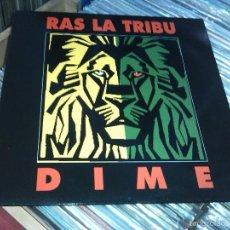 Discos de vinilo: RAS LA TRIBU DIME/QUIEN ROBO TU AMOR 12 MAXI1994 REGGAE JAH MACETAS VALENCIA RARO!! VINILO!NUEVO!!. Lote 59876032