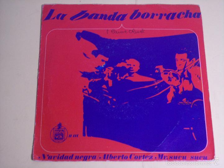 SINGLE ALBERTO CORTEZ /LA BANDA ESTA BORRACHA / NAVIDAD NEGRA) HISPAVOX - 1966 (Música - Discos - Singles Vinilo - Grupos y Solistas de latinoamérica)