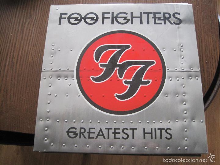 FOO FIGHTERS - GREATEST HITS - LP DOBLE RCA 2009 NUEVO (Música - Discos - LP Vinilo - Pop - Rock Extranjero de los 90 a la actualidad)