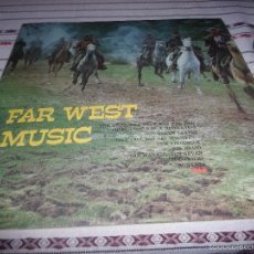 Discos de vinilo: FAR WEST MUSIC BOBLE LP PORTADA ABIERTA. Lote 56274565