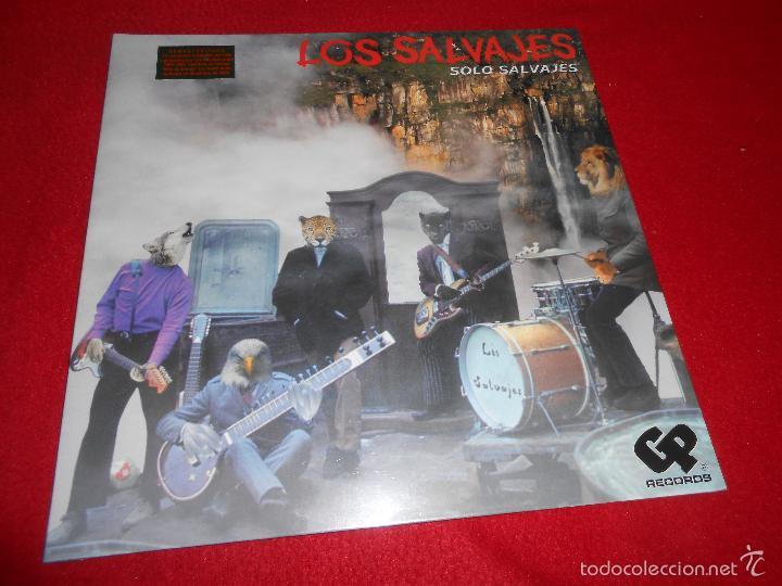 LOS SALVAJES SOLO SALVAJES LP GP RECORDS PRECINTADO NUEVO! (Música - Discos - LP Vinilo - Grupos Españoles 50 y 60)