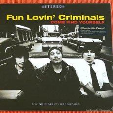 Discos de vinilo: FUN LOVIN' CRIMINALS - COME FIND YOURSELF 180G AUDIOPHILE LP MUSIC ON VINYL PRECINTADO. Lote 56280006