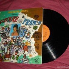 Discos de vinilo: PIERRETTE BRUNO LP LHISTORIE DE FRANCE CBS FRANCE CARPETA DOBLE VER FOTO. Lote 56281515