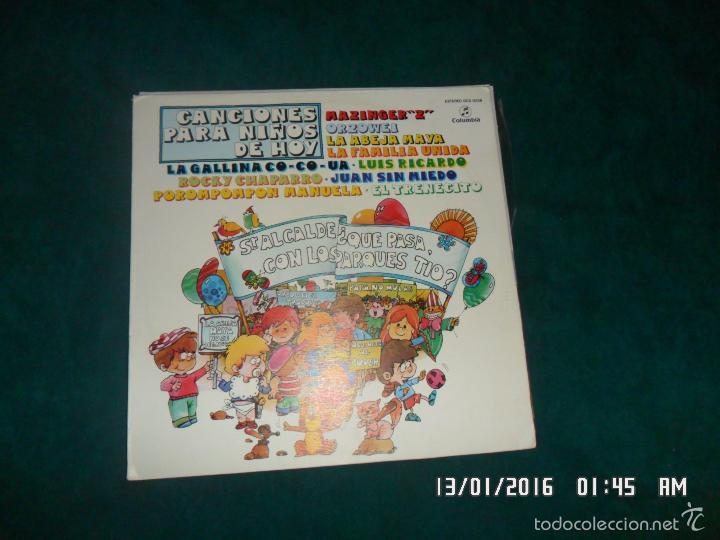CANCIONES PARA NIÑOS DE HOY. COLUMBIA 1978 (Música - Discos - LPs Vinilo - Música Infantil)
