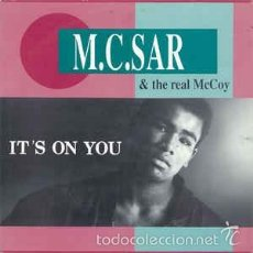 Discos de vinilo: M.C.SAR, IT S ON YOU. Lote 56285632