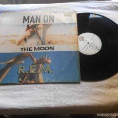 Discos de vinilo: REM MAN ON THE MOON MAXI IMPORT WARNER. Lote 56289968