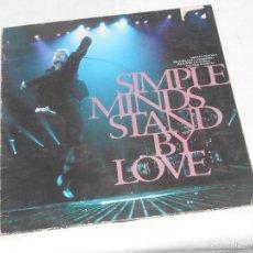 Discos de vinilo: SIMPLE MINDS STAND BY LOVE MAXI IMPORTACION. Lote 56290971