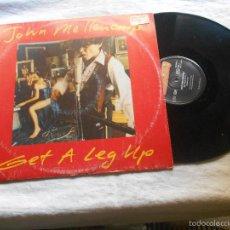 Discos de vinilo: JOHN MELLECAMP GET A LEG UP MAXI IMPORTACION HOLANDA. Lote 56291042