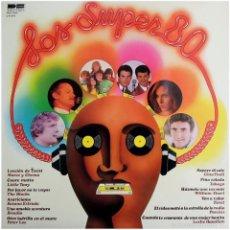 Discos de vinilo: SUSANA ESTRADA, MARCE Y CHEMA, TOBAGO... - LOS SUPER 80 - LP SPAIN 1980 - DB BELTER 2-47.043. Lote 56297100