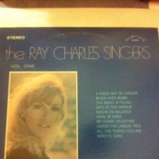 Discos de vinilo: THE RAY CHARLES SINGERS-1970 -USA. Lote 56297752