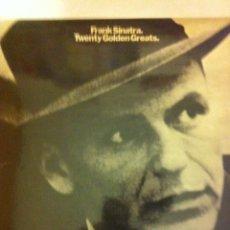 Discos de vinilo: FRANK SINATRA (20 GOLDEN GREATS) - GREAT BRITAIN. Lote 56298026