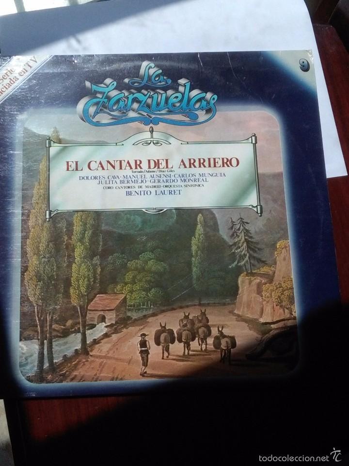 LA ZARZUELA E CANTAR DEL ARRIERO. C5V (Música - Discos - LP Vinilo - Clásica, Ópera, Zarzuela y Marchas)