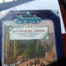 Discos de vinilo: LA ZARZUELA E CANTAR DEL ARRIERO. C5V. Lote 56298149