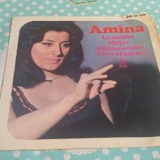 Discos de vinilo: VINILO AMINA. Lote 56298157