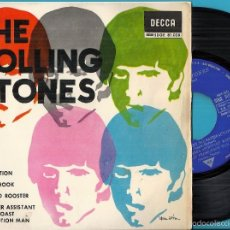 Discos de vinilo: ROLLING STONES, THE: SATISFACTION / OFF THE HOOK / LITTLE RED ROOSTER / THE UNDER ASSISTANT WEST .... Lote 56298381