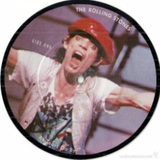 Discos de vinilo: ROLLING STONES, THE: PICTURE DISC: AS TEARS GO BY (SUNG IN ITALIAN: CON LE MIE LACRIME COSI. Lote 56300585