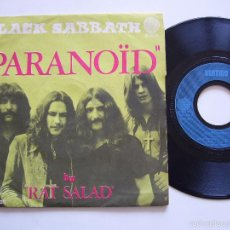 Discos de vinilo: BLACK SABBATH SINGLE PARANOID EDICIÓN FRANCESA. Lote 56301275