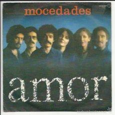 Discos de vinilo: MOCEDADES SG ZAFIRO 1980 AMOR/ ACUNALE JUAN CARLOS CALDERON. Lote 56302647