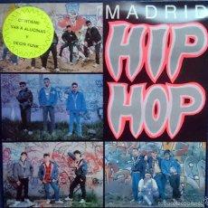 Discos de vinilo: MADRID HIP HOP, LP VA: DNI, SINDICATO DEL CRIMEN, ESTADO CRÍTICO, QSC. 1989, CON ENCARTE. M/VG++. Lote 56303069