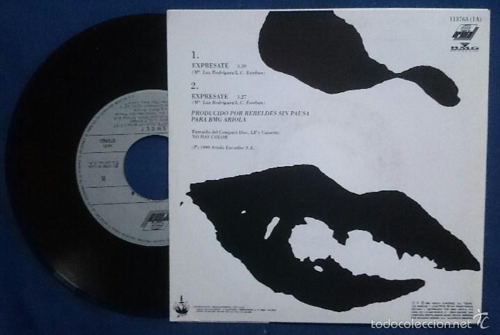 Discos de vinilo: Sweet: ¿Dónde diablos estás?, single Ariola 114002. EX/VG+. + Expresate,single Ariola 113763. NM/EX. - Foto 3 - 56303344