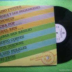 Discos de vinilo: VA (RADIO FUTURA, ALASKA..) DIEZ ÉXITOS EN DOS TIEMPOS - LP HISPAVOX PROMO 1984 DISCOPLAY PEPETO. Lote 56305271