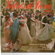 Discos de vinilo: VALSES DE VIENA - VOL.1 - CUENTOS DE LOS BOSQUES - E.P.. Lote 56305624