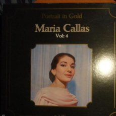 Discos de vinilo: MARIA CALLAS. PORTRAIT IN GOLD. VOL: 4. CAJA CON 5 LP'S. CLASSICAPHON. 980 GRAMOS.. Lote 56306337