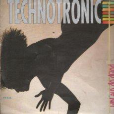Discos de vinilo: TECHNOTRONIC -- PUMP UP THE JAM -- LP. Lote 56306482