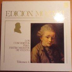 Discos de vinilo: WOLFGANG AMADEUS MOZART. 46 SINFONIAS. KARL BÖHM. ORQUESTA FILARMONICA DE BERLIN. EDICION CONMEMORAT. Lote 56306813