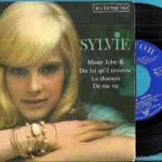 Discos de vinilo: SYLVIE VARTAN: MISTER JOHN B. / DIS LUI QU´IL REVIENNE / LA CHANSON / DE MA VIE. Lote 56251903