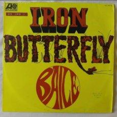 Discos de vinilo: IRON BUTTERFLY, BAILE (HISPAVOX 1969) LP ESPAÑA. Lote 56308537