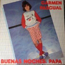Discos de vinilo: CARMEN PASCUAL - BUENAS NOCHES, PAPA . LP . 1982 CFE . Lote 124451574