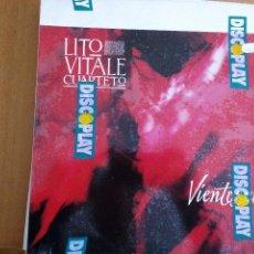 Dischi in vinile: LITO VITALE CUARTETO VIENTO SUR CICLO. 3 LP GASA. Lote 56313556