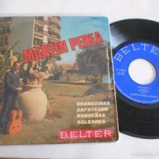 Discos de vinilo: MARTIN PEREA-EP GRANAINAS +3. Lote 56317472