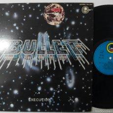 Discos de vinilo: BULLET, EXECUTION 1981 LP. Lote 56320578