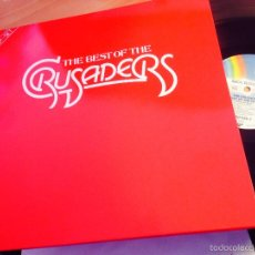 Discos de vinilo: THE CRUSADERS ( THE BEST OF) 2 LP GERMANY 1976 250536-1 (VINA). Lote 56321082
