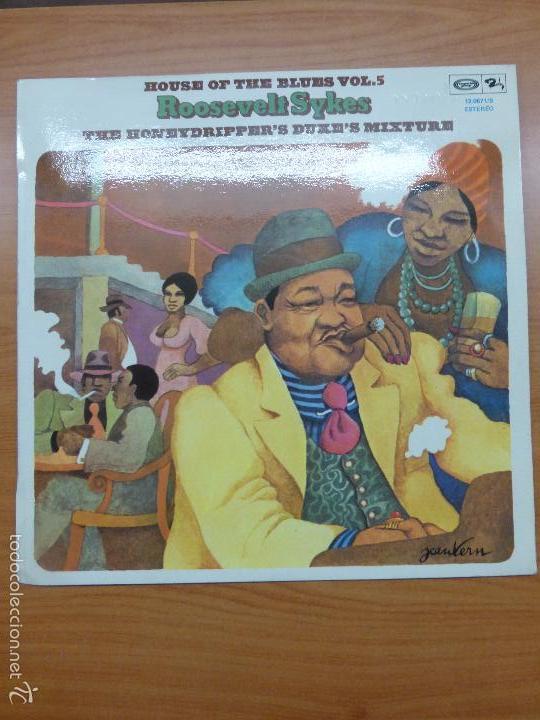 ROOSEVELT SYKES - THE HONEYDRIPPER'S DUKE'S MIXTURE - HOUSE OF THE BLUES VOL 5 - LP VINILO BUEN EST (Música - Discos - LP Vinilo - Jazz, Jazz-Rock, Blues y R&B)