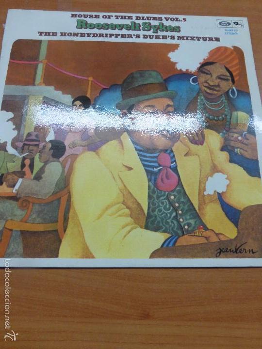 Discos de vinilo: Roosevelt Sykes - The Honeydrippers Dukes Mixture - House of the Blues Vol 5 - LP VINILO BUEN EST - Foto 3 - 56322107
