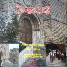 Discos de vinilo: ALBADES - JUSEP MARIA FLORES I JUSEP BAHILO , JOAN BLASCO . LP . 1978 DIAL DISCOS . Lote 56323906