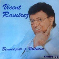 Discos de vinilo: VICENT RAMIREZ - BENVINGUTS A VALENCIA . LP . 1992 CAR CRASH RECORDS . Lote 56323974