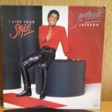 Discos de vinilo: JERMAINE JACKSON. I LIKE YOUR STYLE. LP / MOTOWN - 1981 / CALIDAD LUJO. ****/****. Lote 56325195