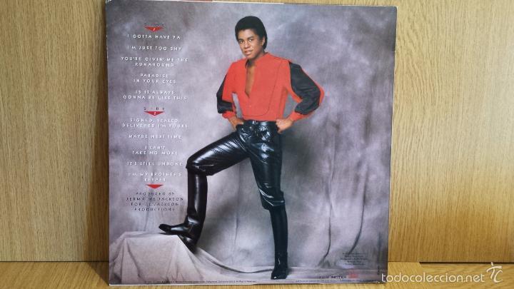 Discos de vinilo: JERMAINE JACKSON. I LIKE YOUR STYLE. LP / MOTOWN - 1981 / CALIDAD LUJO. ****/**** - Foto 2 - 56325195
