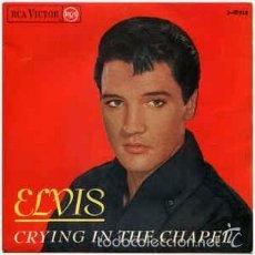 Discos de vinilo: ELVIS - CRYING IN THE CHAPEL+3 (RCA VICTOR, 3-20919 7'', EP, 1965) . Lote 56325212