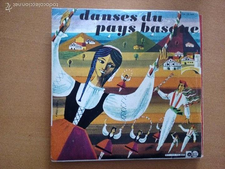 DANSES DU PAYS BASQUE EP CON EXTENSO LIBRETO (Música - Discos de Vinilo - EPs - Country y Folk)