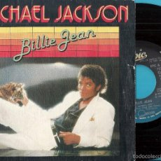 Discos de vinilo: MICHAEL JACKSON: BILLIE JEAN / IT´S THE FALLING IN LOVE. Lote 56328911