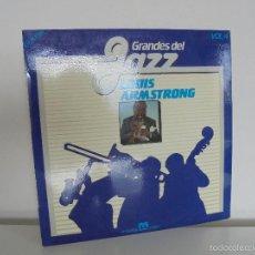 Discos de vinilo: GRANDES DEL JAZZ. LOUIS ARMSTRONG. MUSIVOZ 1982. VER FOTOGRAFIAS ADJUNTAS.. Lote 56330075