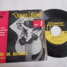 Discos de vinilo: NIÑO DE ALICANTE-EP JUERGA GITANA +3 FRANCES. Lote 56331386