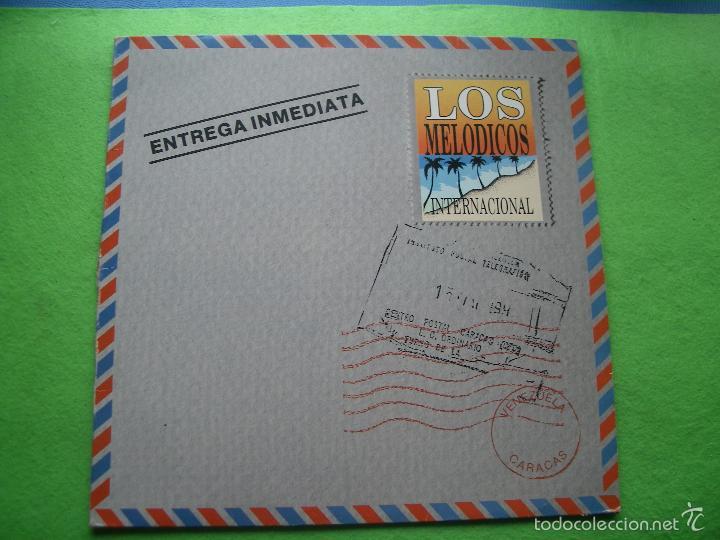 LOS MELODICOS. ENTREGA INMEDIATA. LP FONOMUSIC SPAIN 1993 PEPETO (Música - Discos - LP Vinilo - Grupos y Solistas de latinoamérica)