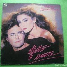 Discos de vinilo: AL BANO Y ROMINA POWER-EFFETTO AMORE LP BABY RECORDS 1985. Lote 56333658